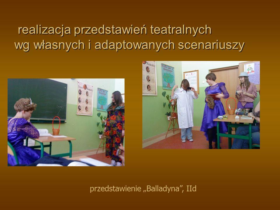 program edukacyjny Teatr z klasą program edukacyjny Teatr z klasą przedstawienie Romek i Julka, kl.