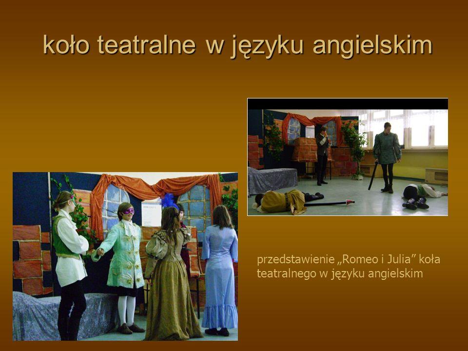 realizacja przedstawień teatralnych wg własnych i adaptowanych scenariuszy realizacja przedstawień teatralnych wg własnych i adaptowanych scenariuszy przedstawienie Balladyna, IId