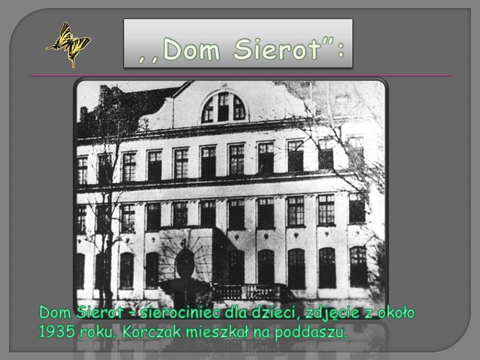 Janusz Korczak urodził się 22 lipca 1878 Warszawie, zmarł 5 lub 6 sierpnia 1942 w Treblince.