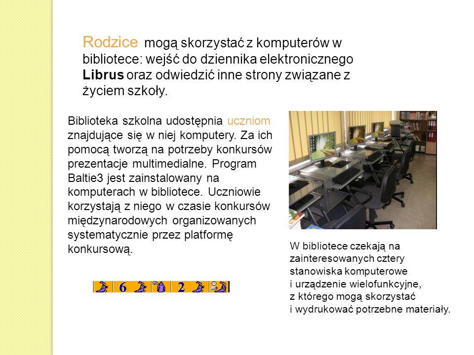 Projekt Twórcza Informatyka z Baltie pozwolił zapoznać się nauczycielom i uczniom z programem Baltie 3, który jest zainstalowany na wszystkich komputerach w szkolnej pracowni komputerowej.