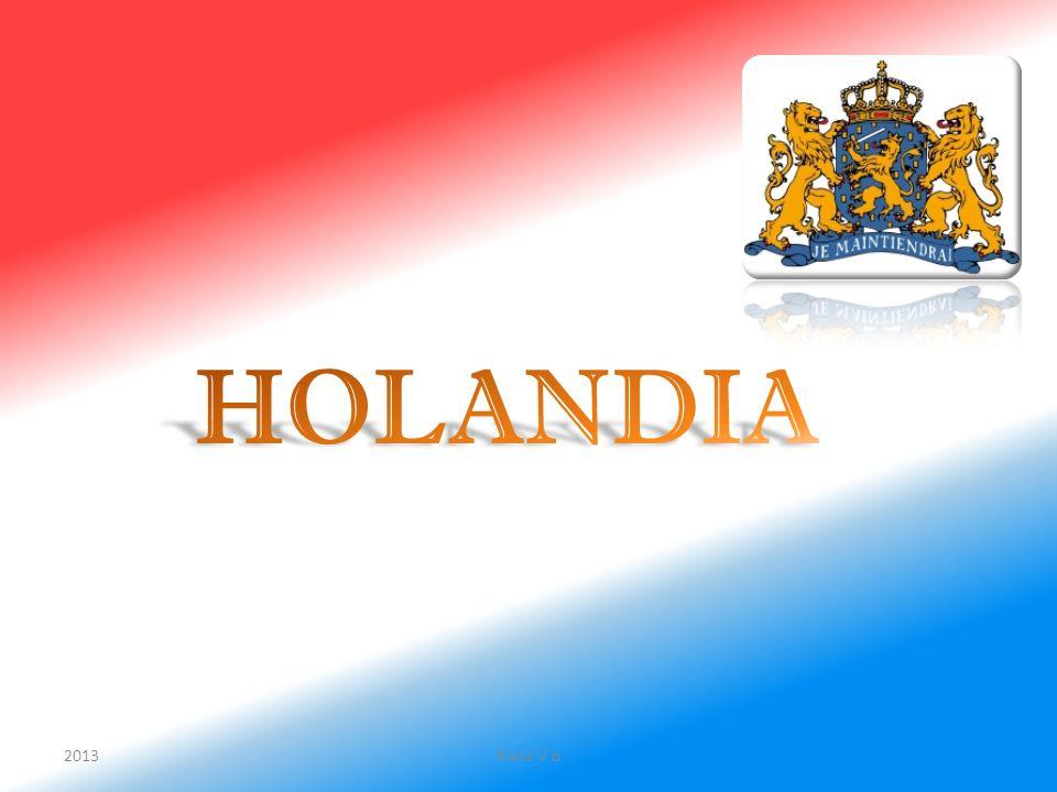 Holandia położona jest w zachodniej części Europy nad Morzem Północnym, które oblewa ją od północy i zachodu.