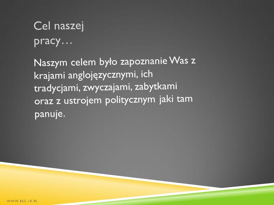 Efekty naszej pracy… WWW.ESC.1K.PL Utworzenie strony www.