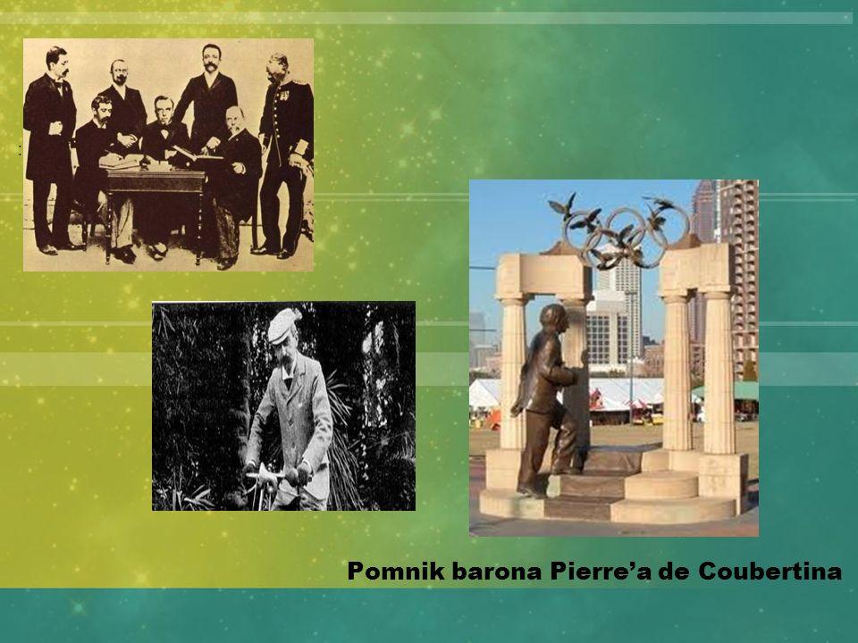 Pomnik barona Pierrea de Coubertina