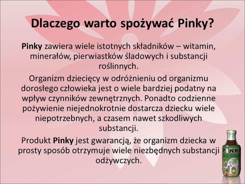 Dlaczego warto spożywać Pinky.