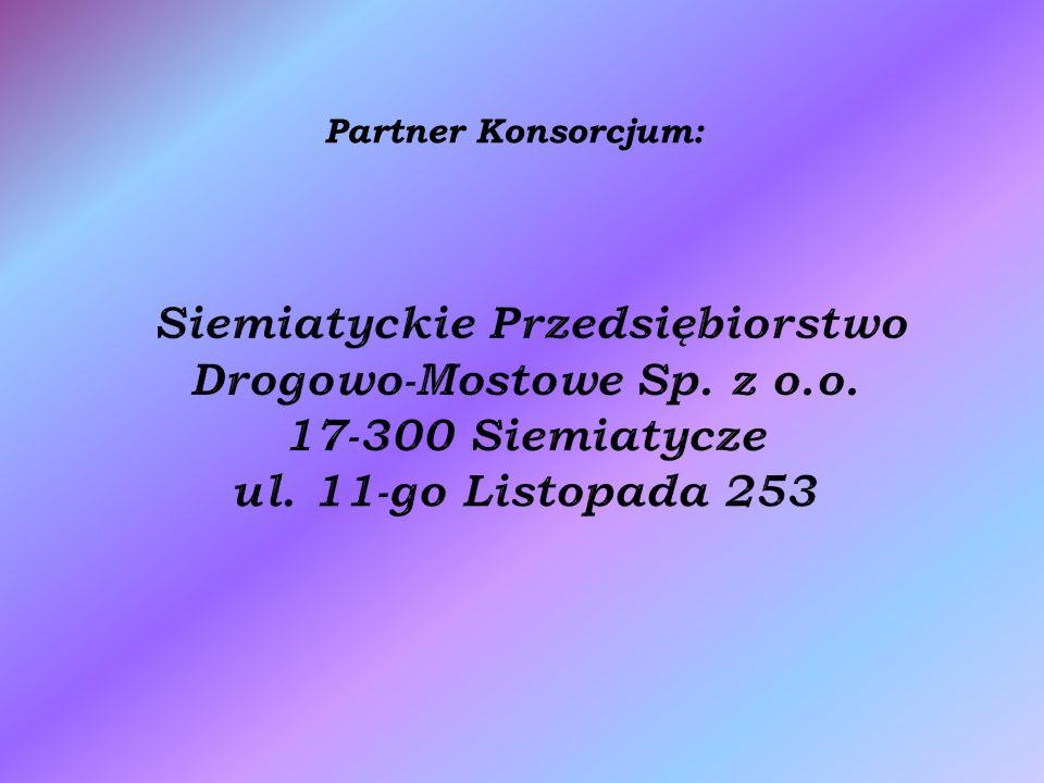 Partner Konsorcjum: