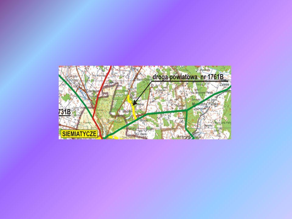 Mapa lokalizująca Zadanie 3 Gmina Siemiatycze