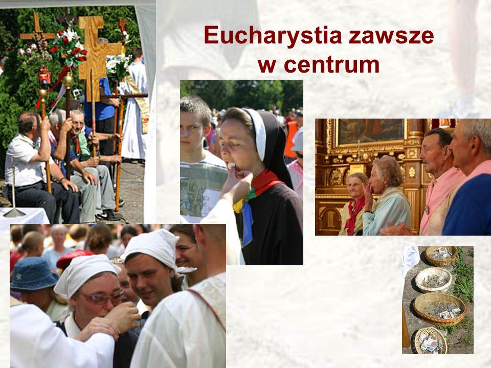 Eucharystia zawsze w centrum