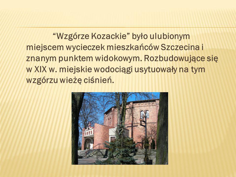 Wzgórze Kozackie było ulubionym miejscem wycieczek mieszkańców Szczecina i znanym punktem widokowym.