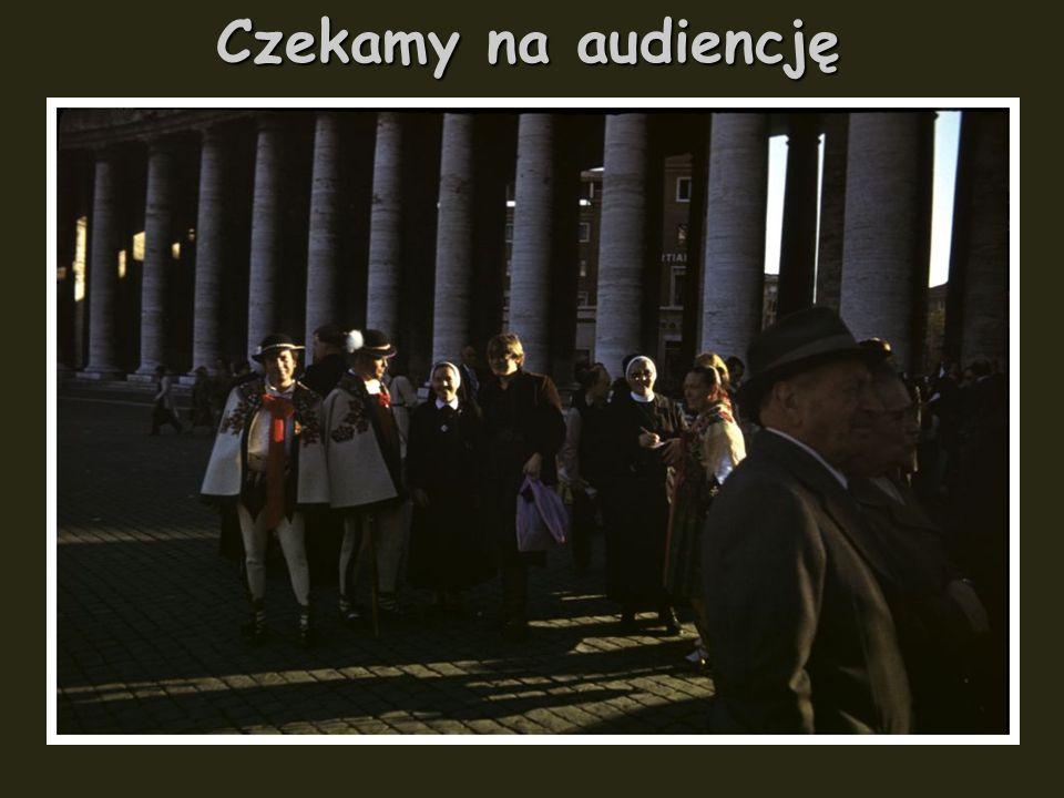 23 października 1978 r. Poniedziałek. Pierwsza audiencja. Dla Polaków