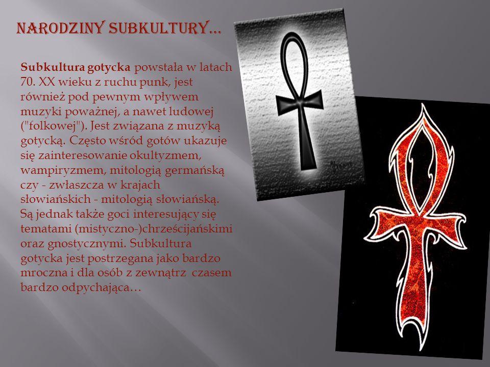 Subkultura Gotycka w Polsce jest bardzo podobna od tej z innych krajów… mimo faktycznego powiązania gotyk w naszym kraju przyjmuje odrębną formułę – w Polsce powoli lecz nieubłaganie Goci stają się potężną subkulturą dążącą do swych praw i celów.