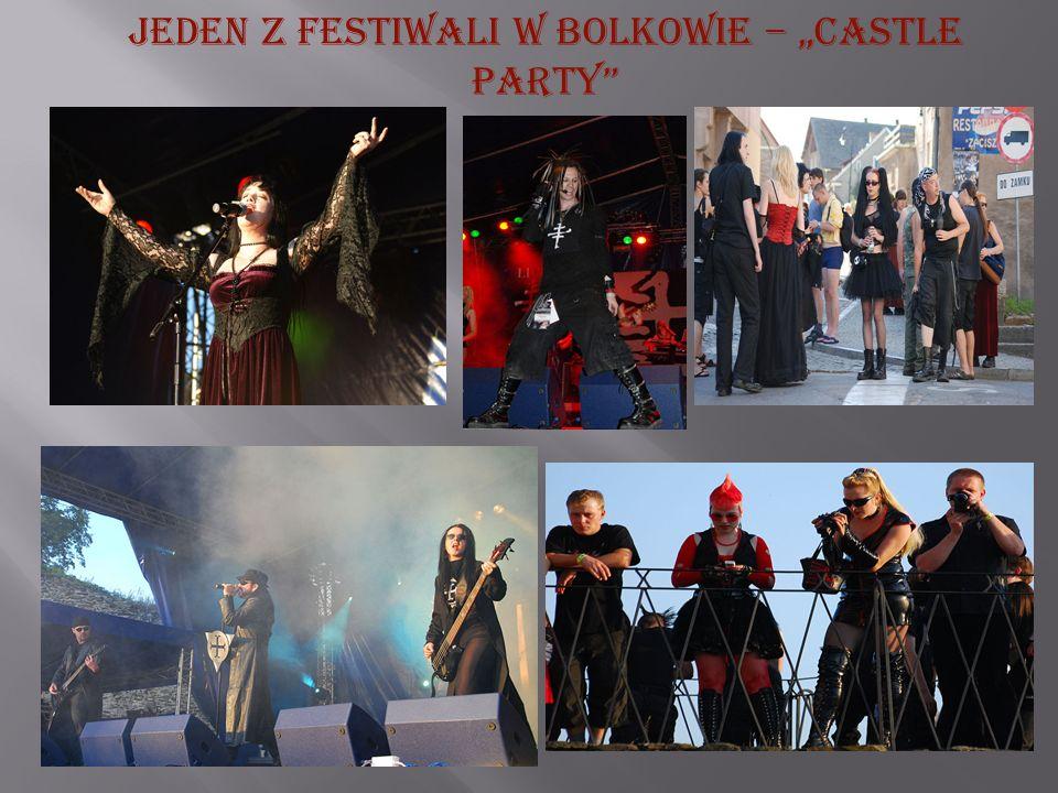 Jeden z festiwali w Bolkowie – Castle Party