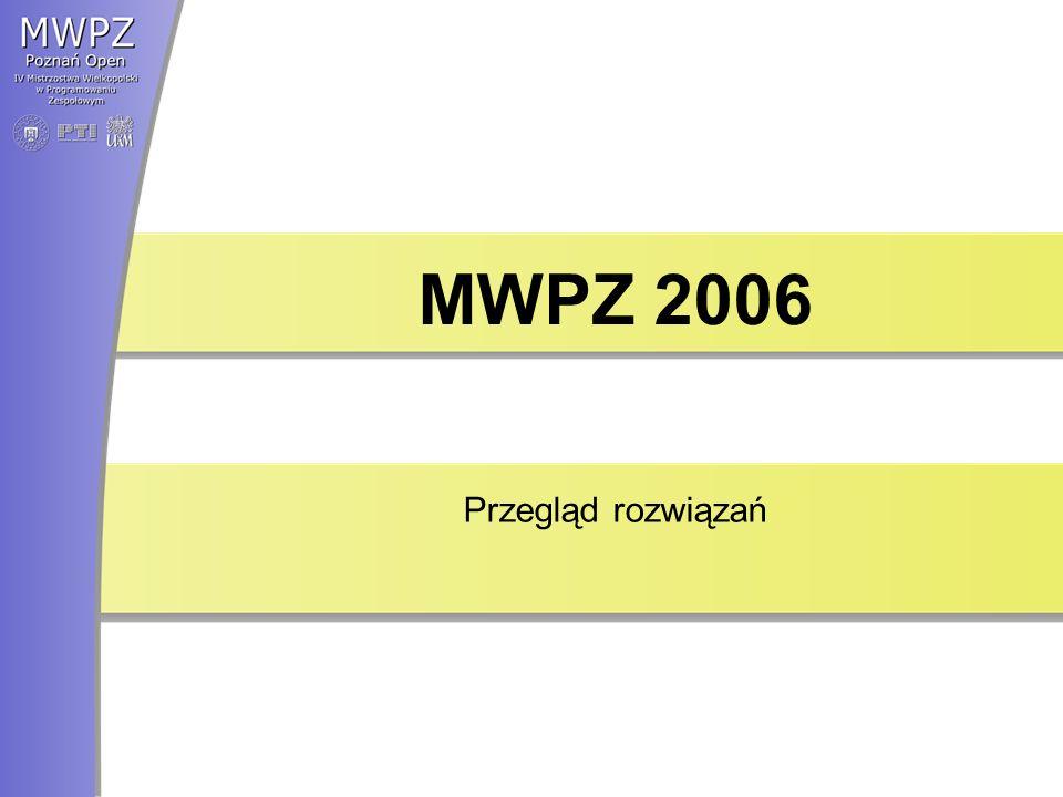 MWPZ 2006 Przegląd rozwiązań