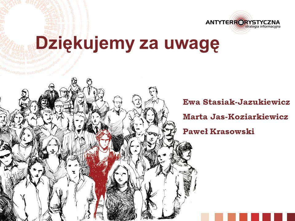 28 Dziękujemy za uwagę Ewa Stasiak-Jazukiewicz Marta Jas-Koziarkiewicz Paweł Krasowski