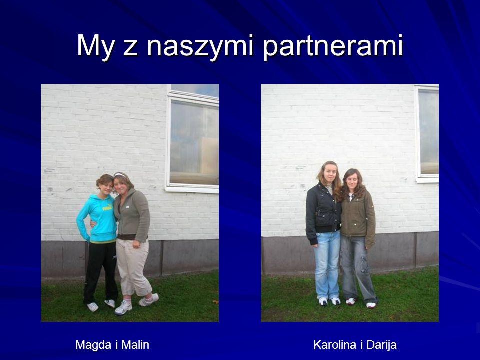 My z naszymi partnerami Magda i Malin Karolina i Darija