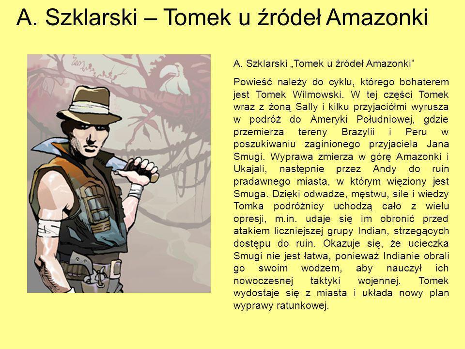 K. May – Winnetou. K. May Winnetou Akcja powieści toczy się na Dzikim Zachodzie w Ameryce Północnej. Głównym bohaterem jest młody Indianin Winnetou, w