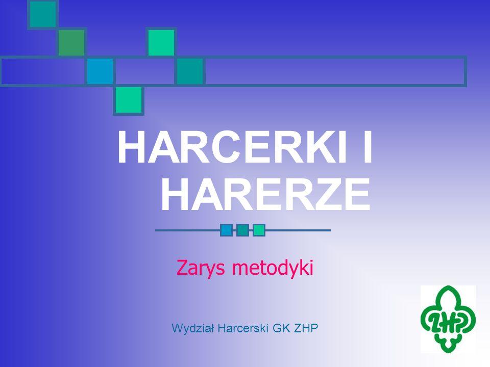 HARCERKI I HARERZE Zarys metodyki Wydział Harcerski GK ZHP