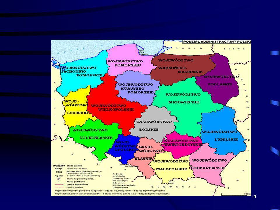 5 Teraz zaczynamy.wszystkie województwa oprócz jednego będą miały żółty kolor.