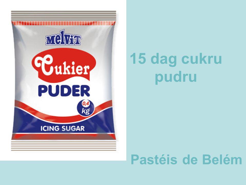 15 dag cukru pudru