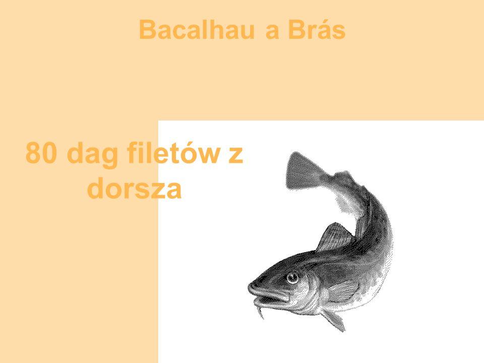 Bacalhau a Brás 4 filety anchois