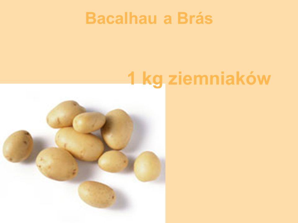 50 dag cebuli Bacalhau a Brás