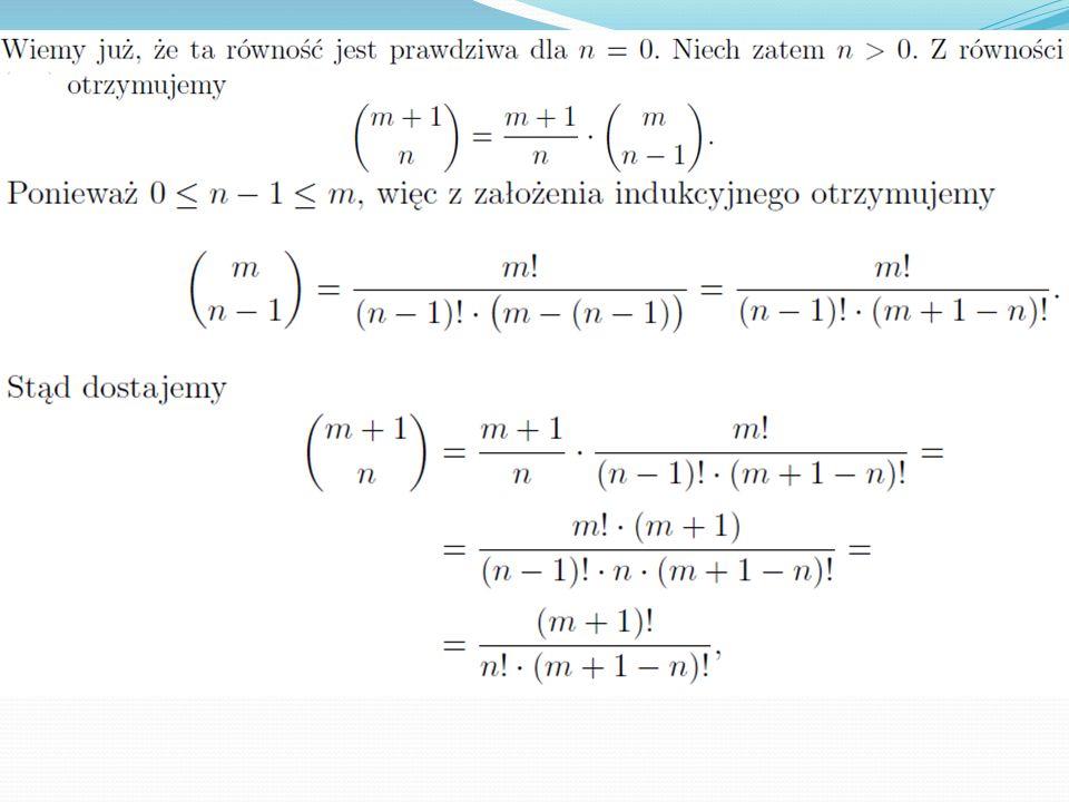 W kombinatoryce staramy się odpowiedzieć na pytanie: na ile różnych sposobów możemy wylosować z danej grupy elementów jakąś ich ilość.