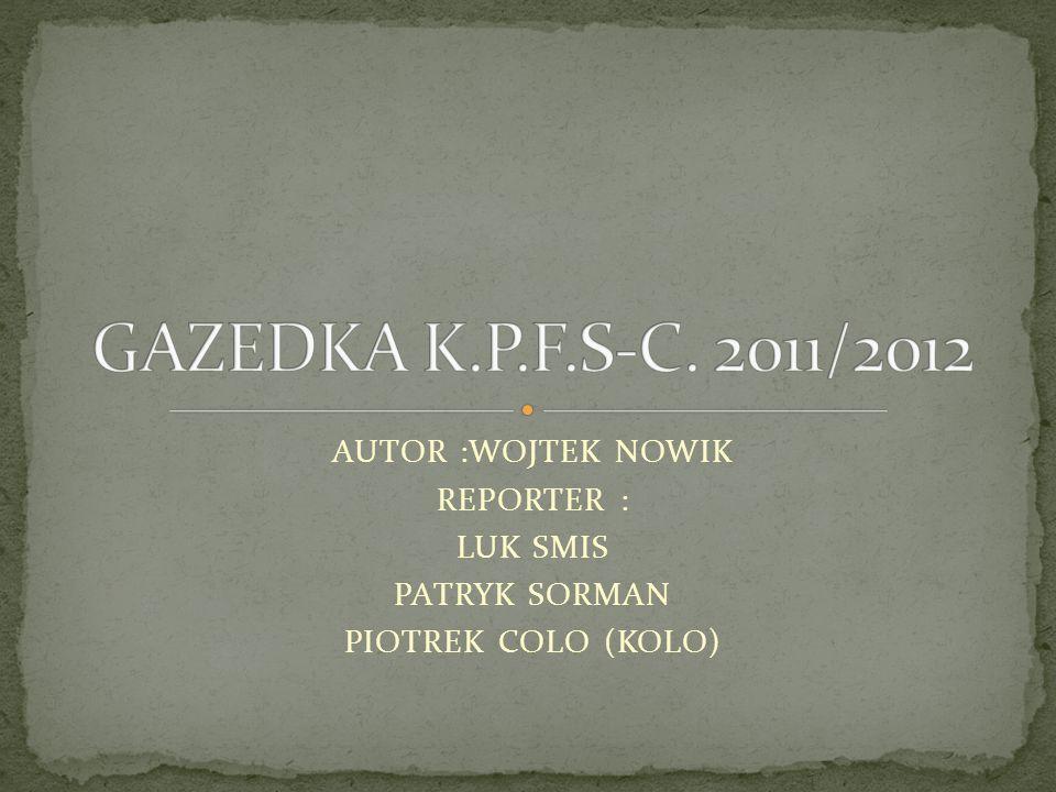 GAZETKA WAZNA DO : 12/01/2012