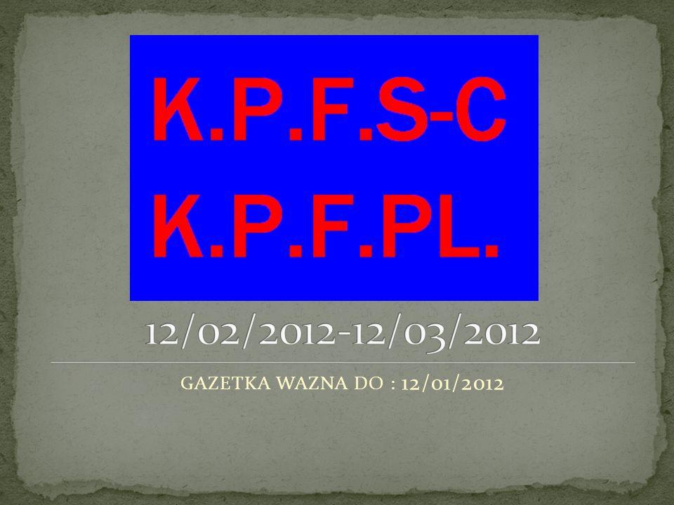 1.NOWE RZECZY W NASZYM KLUBIE 2. REMONTY W K.P.F.S-C.