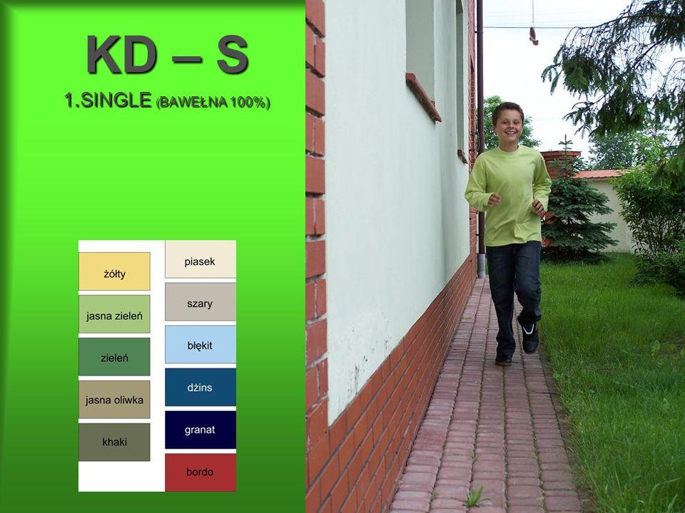 KD – S 1.SINGLE (BAWEŁNA 100%)