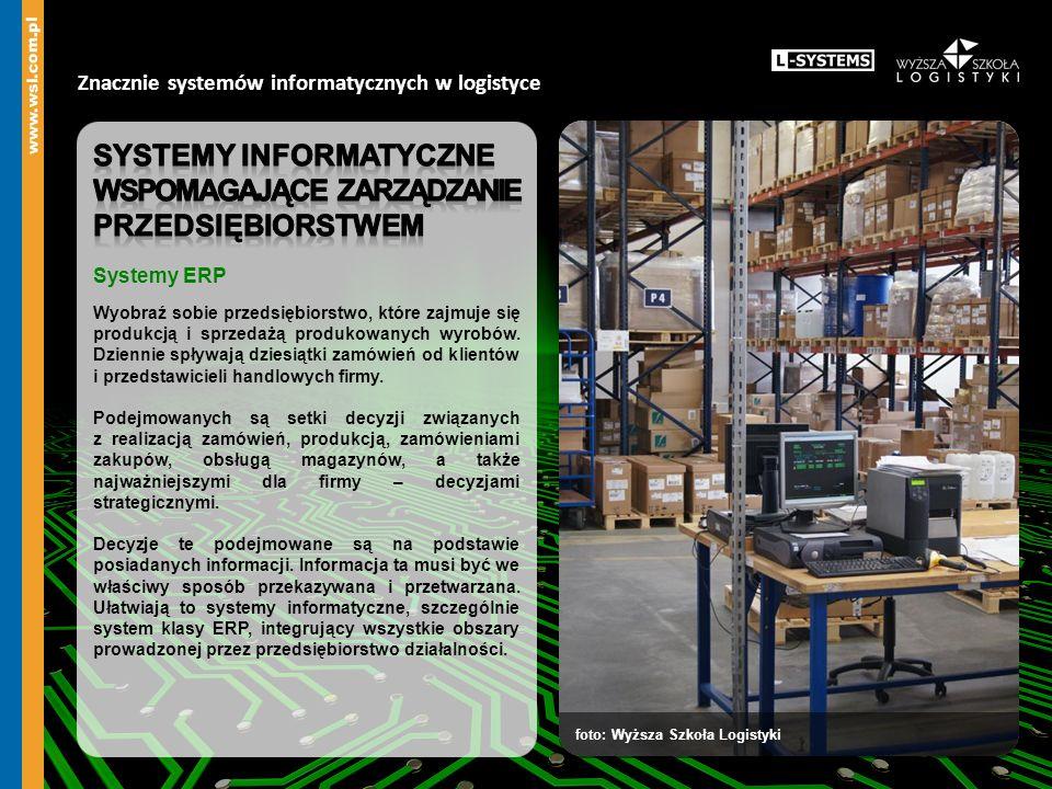 Znacznie systemów informatycznych w logistyce foto: depositphotos.com