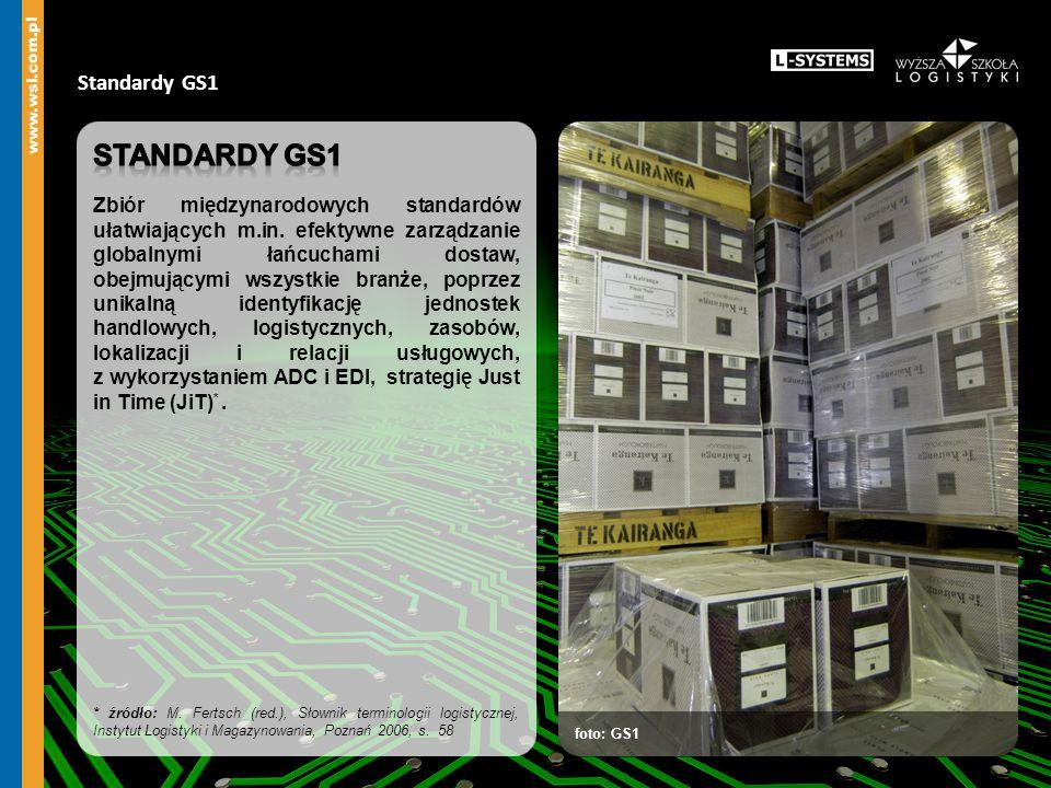 Standardy GS1 foto: GS1