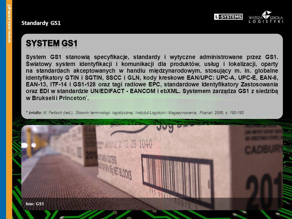 Standardy GS1 foto: Instytut Logistyki i Magazynowania foto: SKK S.A.
