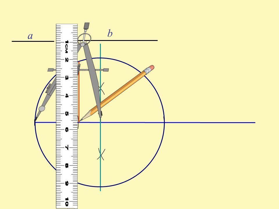 a b Dowód poprawności konstrukcji a b h