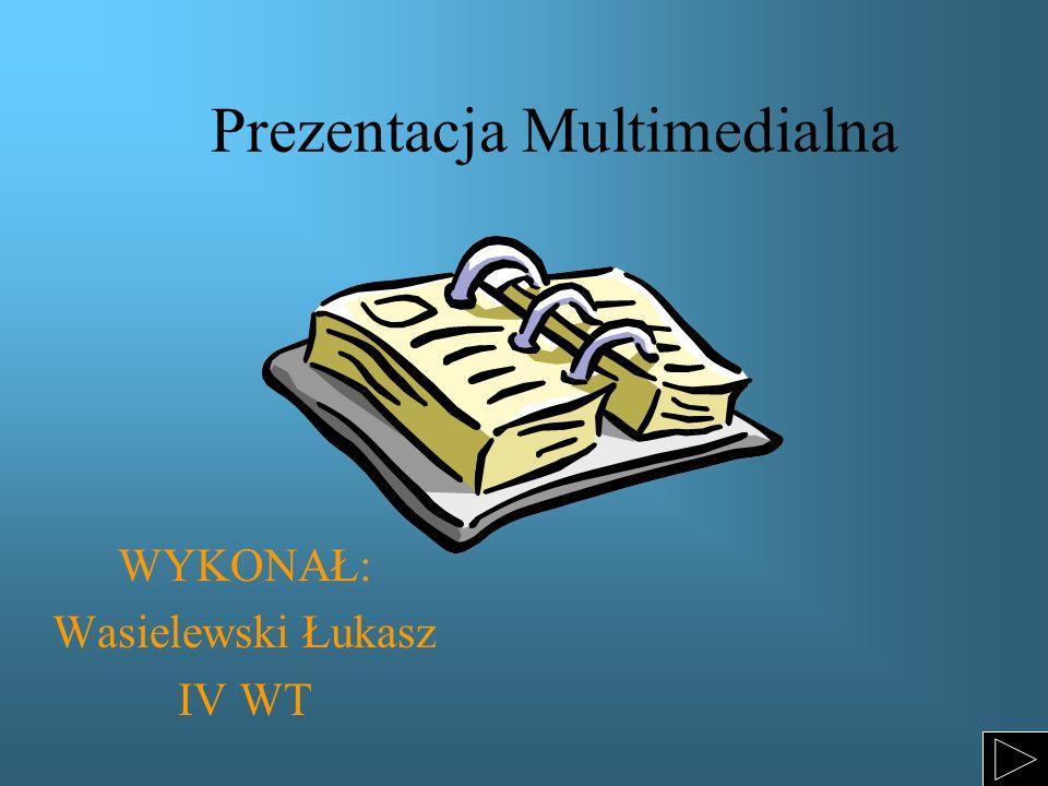 Prezentacja Multimedialna WYKONAŁ: Wasielewski Łukasz IV WT