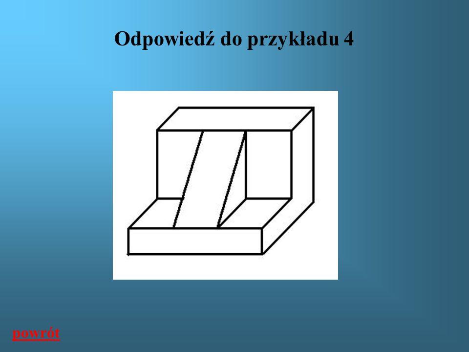 Odpowiedź do przykładu 4 powrót