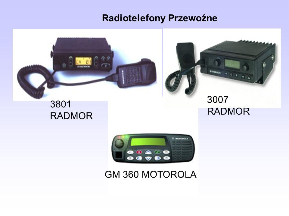 3801 RADMOR 3007 RADMOR GM 360 MOTOROLA Radiotelefony Przewoźne