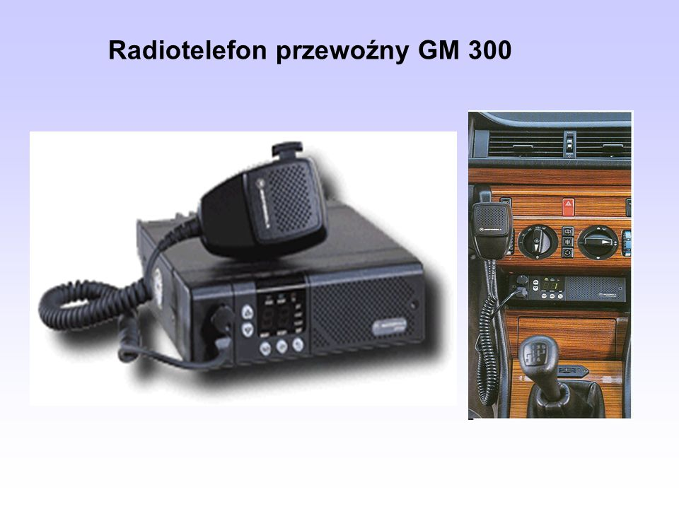 Radiotelefon przewoźny GM 300