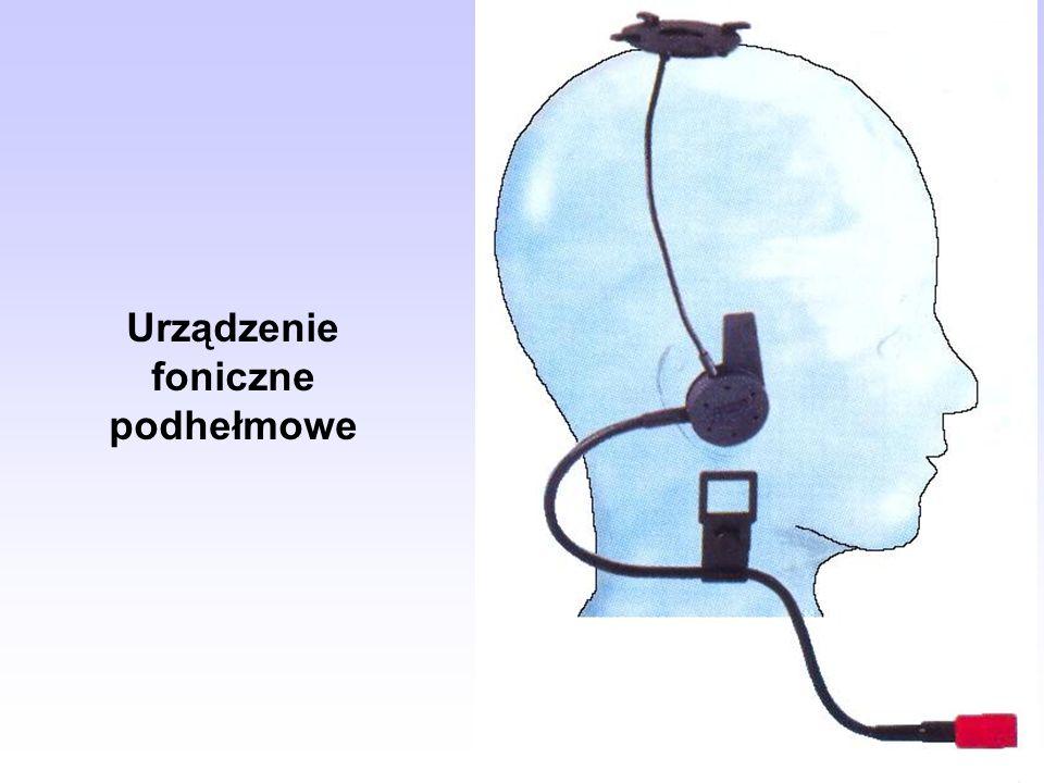 Urządzenie foniczne podhełmowe