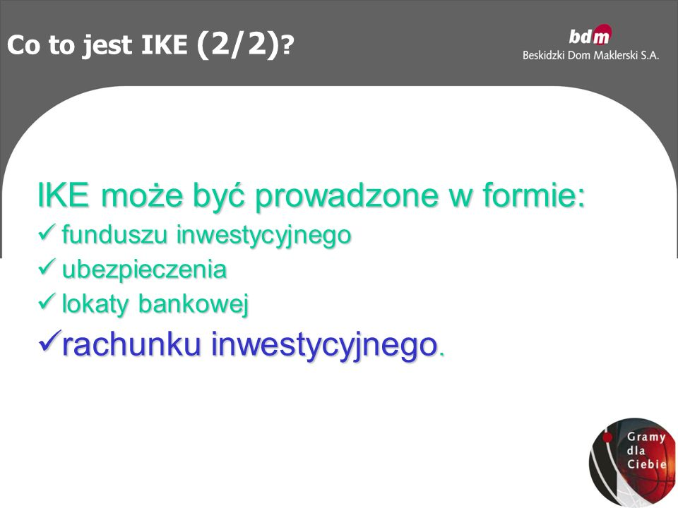 Co to jest IKE (2/2) .
