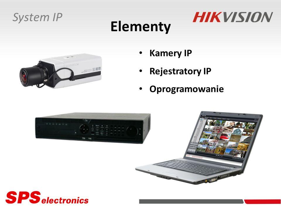 Kamery IP DS-2CD754F-E DS-2CD783F-E Parametry Rozdzielczości/Prędkości: - 3 Mpx QXGA (2048x1536 px) 12,5 kl./s - 2 Mpx FullHD (1920x1080 px) 25 kl./s - 2 Mpx UXGA (1600×1200 px) 25 kl./s - kolejne rozdzielczości 25 kl./s (model DS-2CD854F-E) - 5 Mpx QXGA+ (2560x1920 px) 6 kl./s - 3 Mpx QXGA (2048×1536 px) 12,5 kl./s - 2 Mpx FullHD (1920×1080 px) 25 kl./s - 2 Mpx UXGA (1600×1200 px) 25 kl./s - kolejne rozdzielczości 25 kl./s (model DS-2CD883F-E) Obsługa NAS Zgodność z ONVIF/PSIA Obsługa SD/SDHC (32 GB)