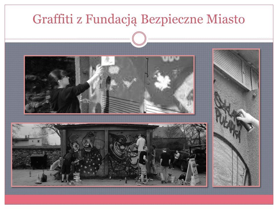 Graffiti z Fundacją Bezpieczne Miasto