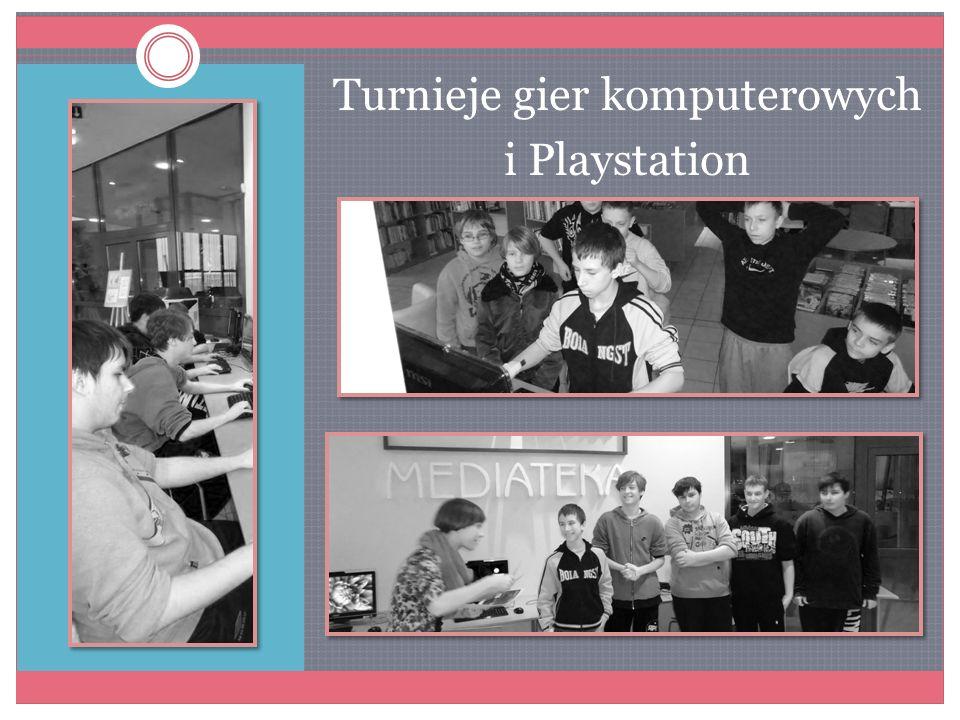 Turnieje gier komputerowych i Playstation