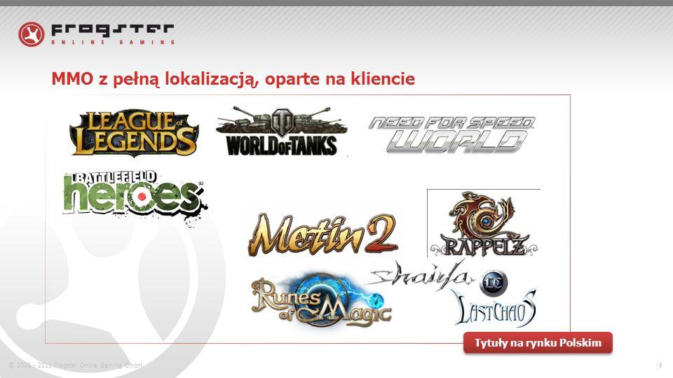 © 2008 - 2011 Frogster Online Gaming GmbH.9 MMO z pełną lokalizacją, przeglądarkowe Tytuły na rynku Polskim