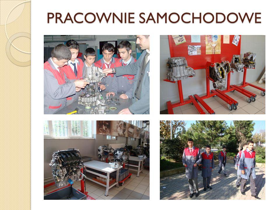 PRACOWNIE SAMOCHODOWE