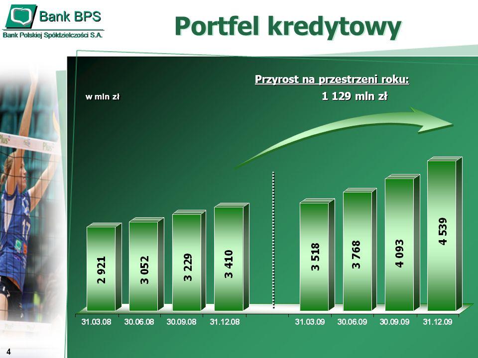 5 64,3% 35,7% 61,9% 38,1% 1 218 mln zł 1 730 mln zł 31.12.2008 31.12.2009 Kredyty konsorcjalne Udział kredytów konsorcjalnych w kredytach ogółem Udział kredytów konsorcjalnych w kredytach ogółem