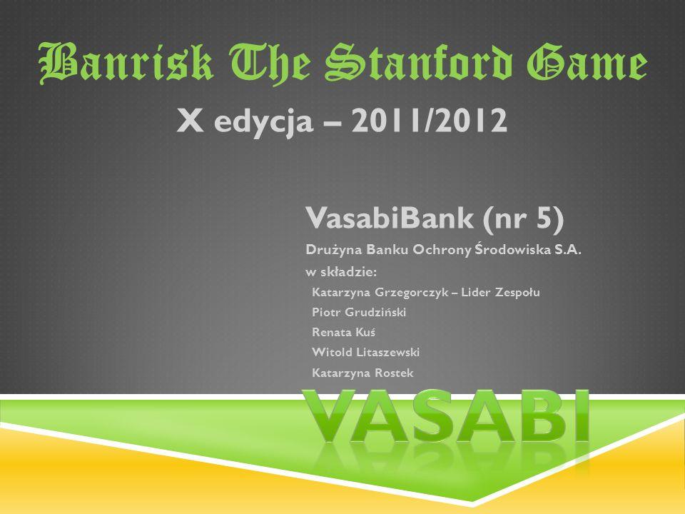 VasabiBank (nr 5) Drużyna Banku Ochrony Środowiska S.A.
