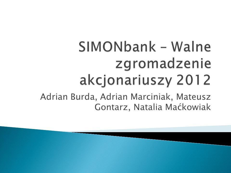 1.Prezentacja obecnej strategii - założenia 2. Efekty strategii – wyniki finansowe 3.