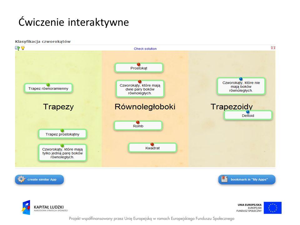 Ćwiczenie interaktywne
