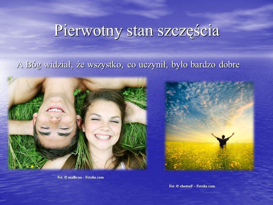 Pierwotny stan szczęścia A Bóg widział, że wszystko, co uczynił, było bardzo dobre Fot.