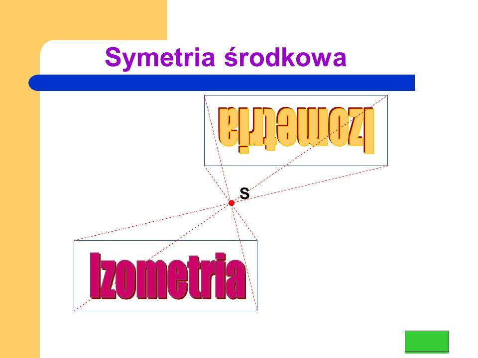 Symetria środkowa S