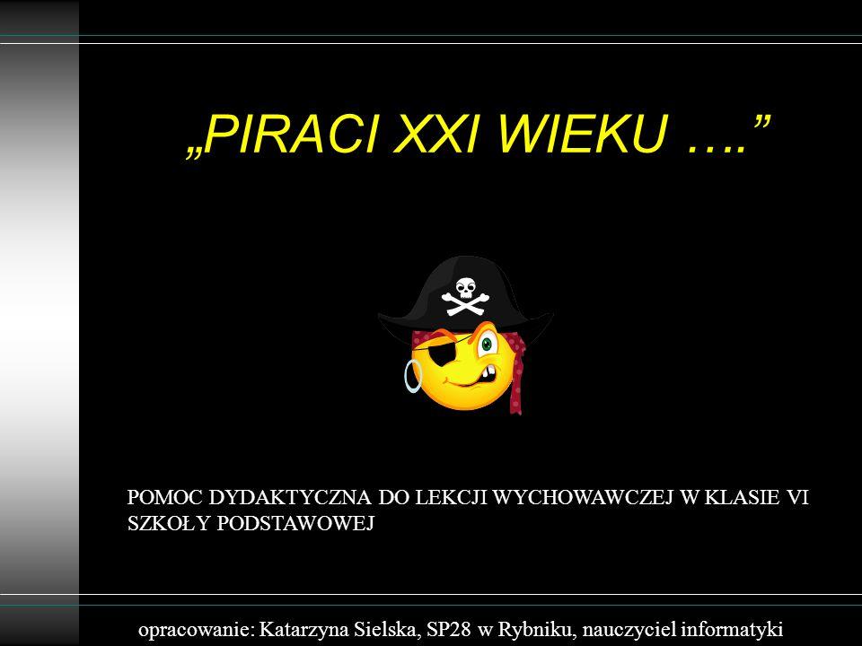 GRUPA SZÓSTA Kasia prowadzi swoją stroną internetową.